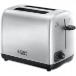 Russell Hobbs Brushed Stainless Steel 2 Slice Toaster (24081)