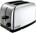 Russell Hobbs Dorchester Polished Stainless Steel Two Slices Toaster (18784)