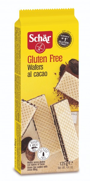 Schär Wafers Cocoa 125gr