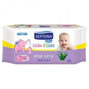 Septona Baby Wipes Aloe Vera 64pcs