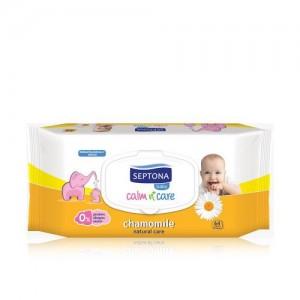 Septona Baby Wipes Chamomile 64pcs