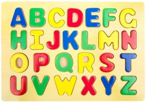 Small Foot ABC Wooden Puzzle