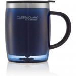 Thermos THERMOcafe Stainless Steel Desk Mug 450ml - Blue