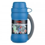 Thermos Vacuum Flask with Cup in Lid 500ml - Blue