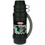 Thermos Vacuum Flask with Cup in Lid 750ml - Black