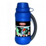Thermos Vacuum Flask with Cup in Lid 750ml - Blue
