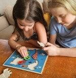 Touchwood Design - Continents and Oceans Puzzle