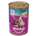 Whiskas 1+ Can with Rabbit in Jelly (24x390gr)