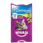 Whiskas Dentabites Cat Treats with Chicken (8x50gr)