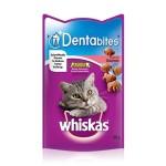 Whiskas Dentabites Cat Treats with Salmon (8x50gr)