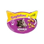 Whiskas Temptations Cat Treats with Chicken & Cheese (8x60g)